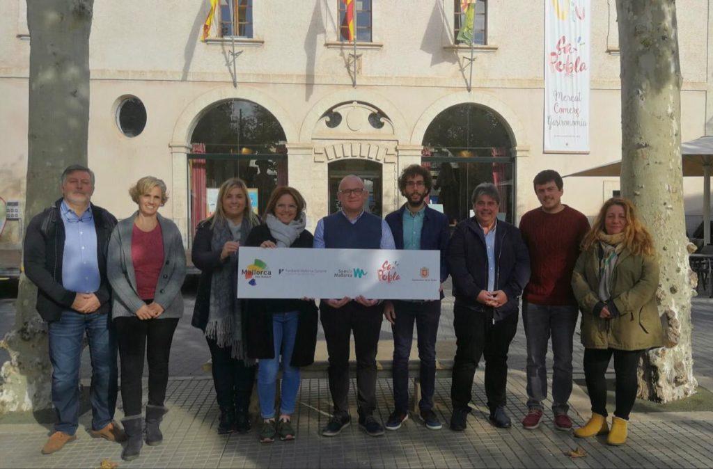 presentación del blog trip Som de Mallorca en Sa Pobla